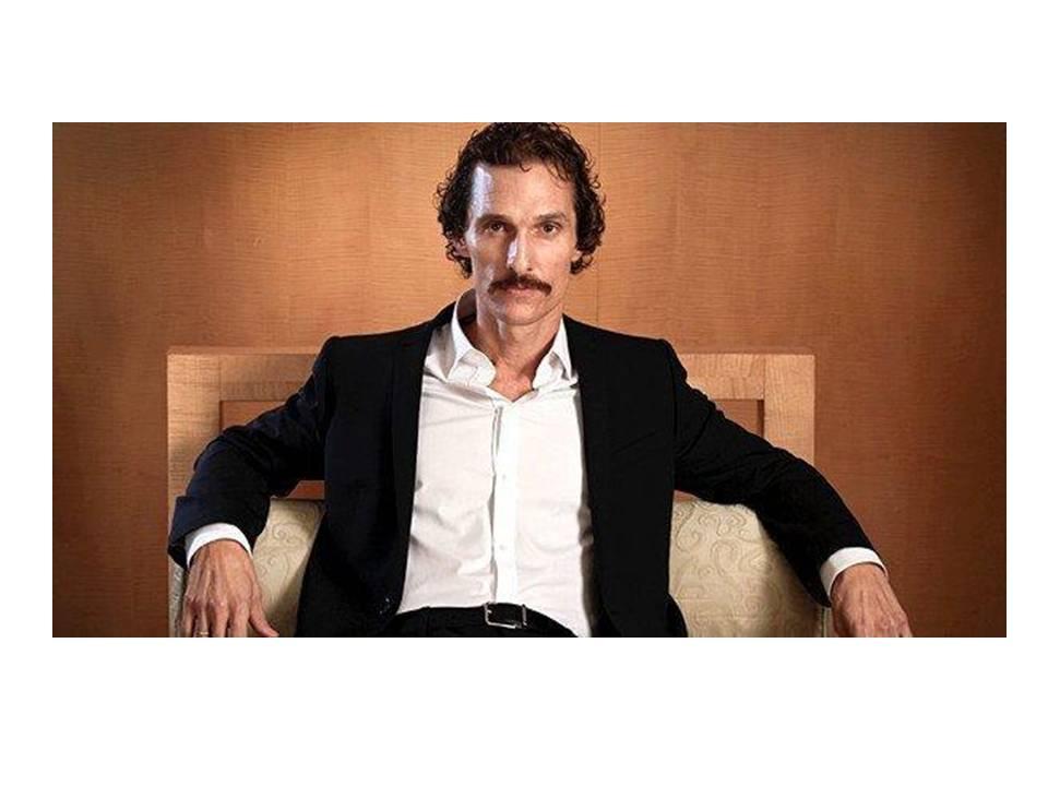 Matthew McConaughey as Ron Woodruff Dallas Buyers Club